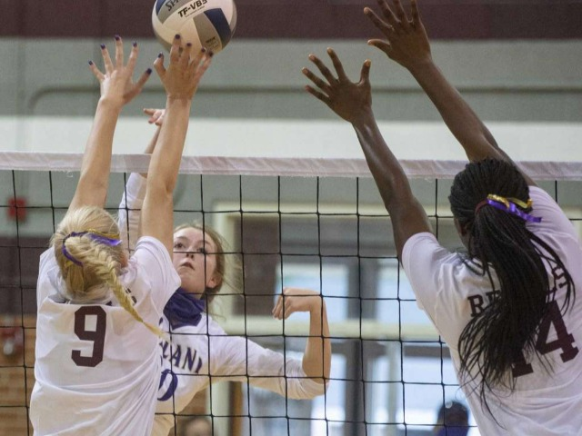 HS VOLLEYBALL: MHS sweeps Lee to take season series