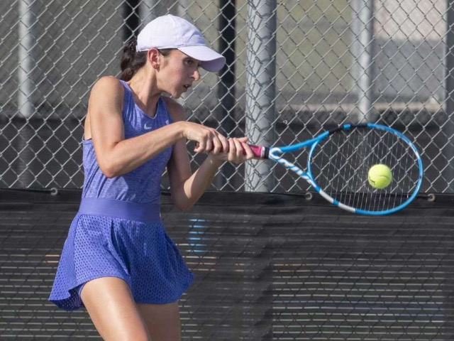 Image for HS TENNIS: Girls lead MHS to win over Permian