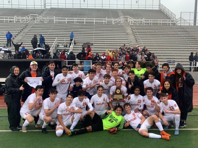 Wakeland Boys Soccer Team Headed to State Tournament Again
