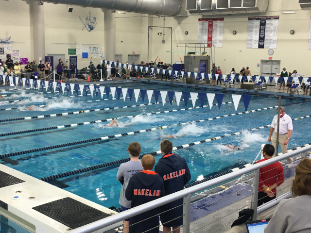 Wakeland Sweeps Boys and Girls Swimming and Diving District Titles