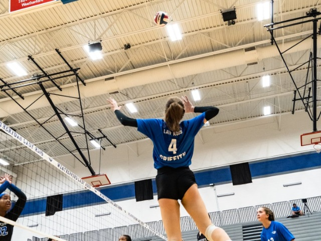 Lady Roos Keep Rolling; Griffith Ties School Record