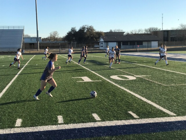 Lady Roo Soccer Beat Chisholm Trail