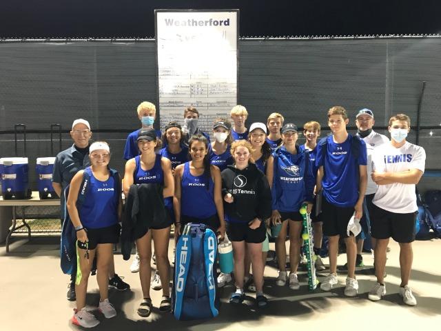Tennis All-District Award Winners