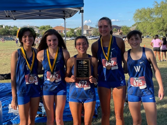 Lady Roos Win First Meet