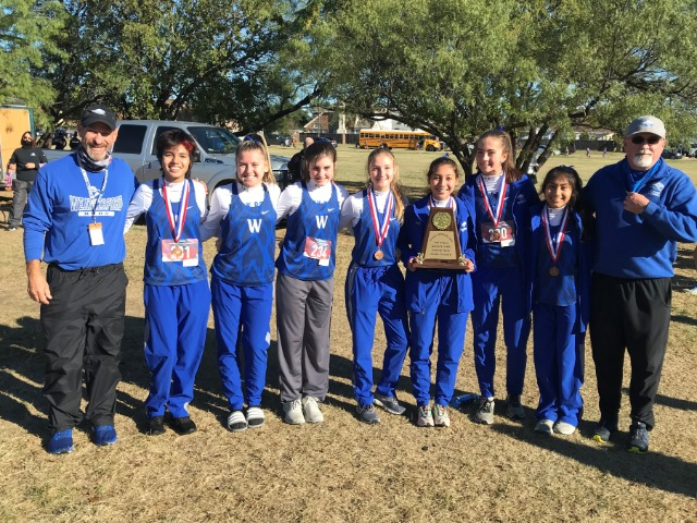 Lady Roos Finish 2nd in the District XC Meet, Pando is the District Champion