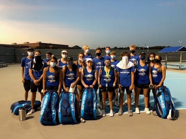 Tennis Team Improves to 2-0