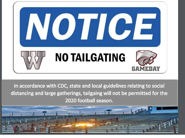 Image for No Tailgating 2020