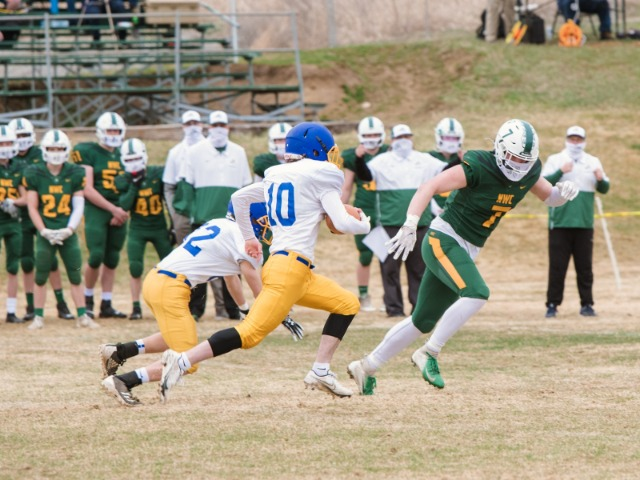 Colfax Boys dominated the Crusaders in a blowout win 44-6