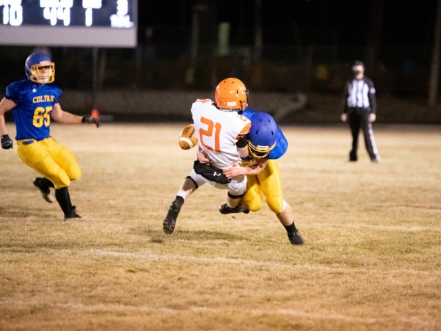 Colfax Bulldogs blowout the Asotin Panthers  44-0 in first home game of the season