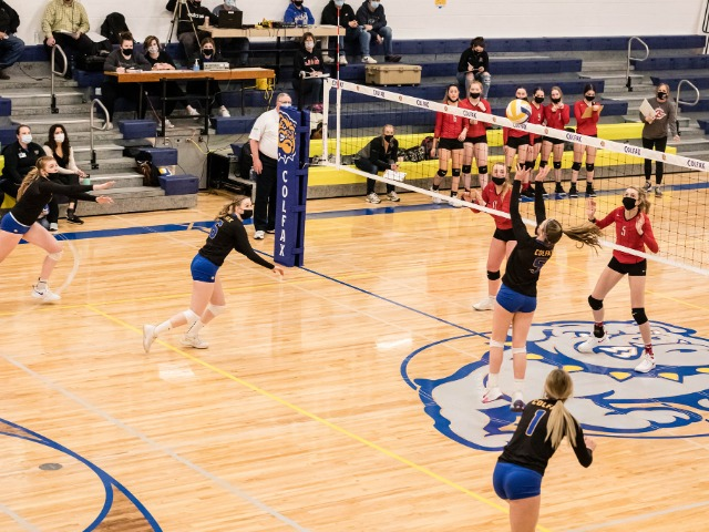 Colfax places five on All League volleyball list