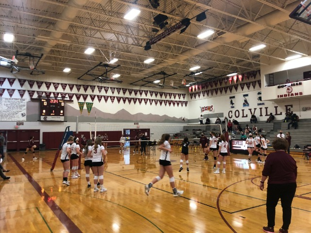 Colville volleyball comes back in fifth set to defeat Medical Lake