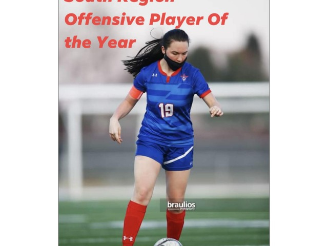 2020-21 CBBN  South Region Offensive Player of the Year!!!