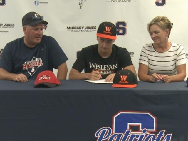 Parkersburg South's Todd Burner signs with West Virginia Wesleyan College