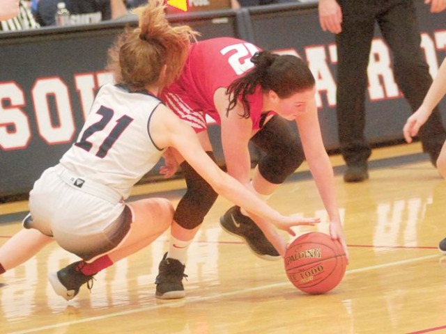 PHS, South girls' hoops meet for Round 2