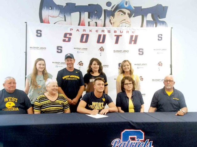 South's Nick Yoho signs to play football at WVU