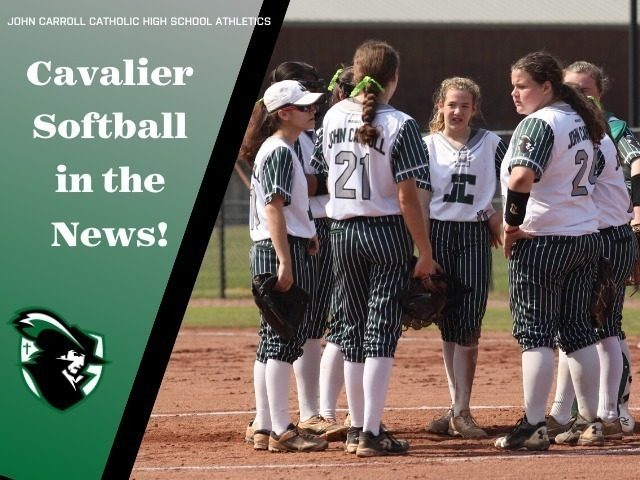 Image for Cavalier Softball in the News!