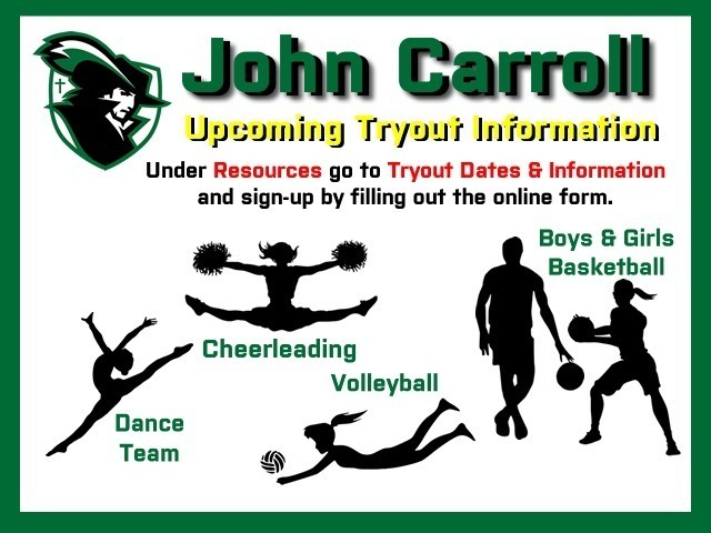 Image for Upcoming Tryouts