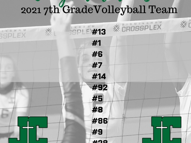Image for JCCHS Announces 7th Grade Volleyball Team