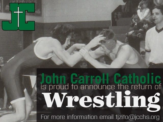 Wrestling Returns to John Carroll