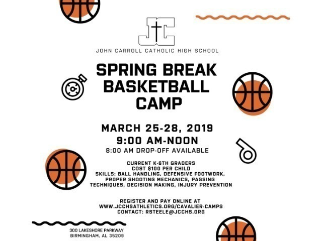 Image for Spring Break Basketball Camp
