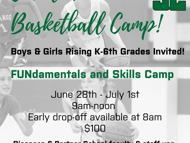 Cavalier Basketball Camp!