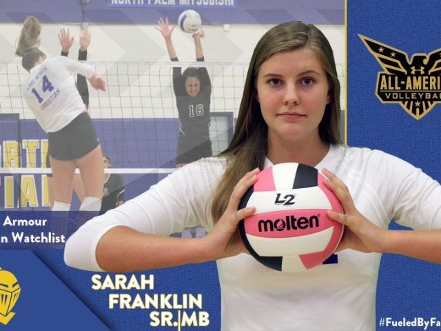 Sarah Franklin Named to Under Armour All-American Watch List