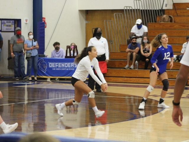 Defending state champ Lake Worth Christian volleyball sweeps Trinity Christian in district final