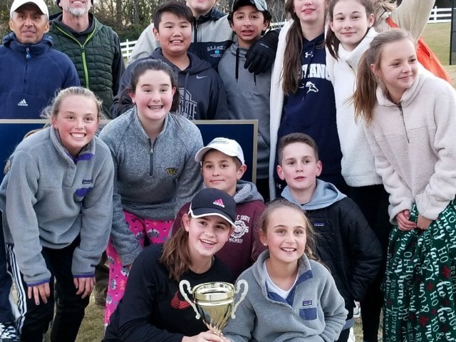Image for Middle School Girls Tennis Captures Metro-10 Championship, Boys Finish Third