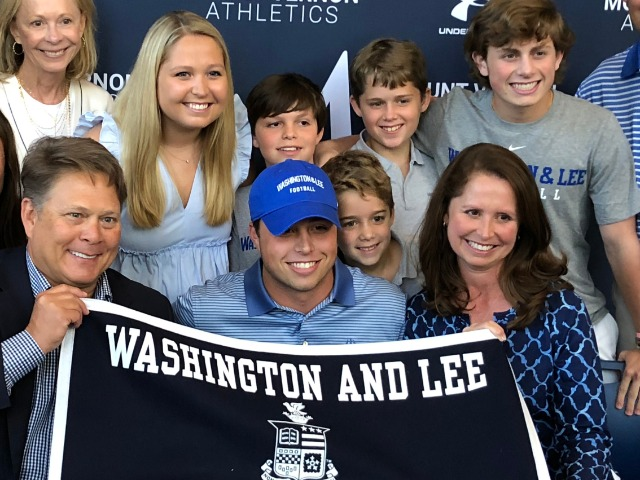 Parker Corley Inks National Letter of Intent with Washington and Lee University