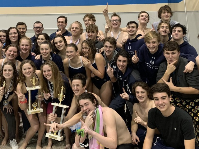 Mustang Swim and Dive Program Reaches New Heights in 2019-20