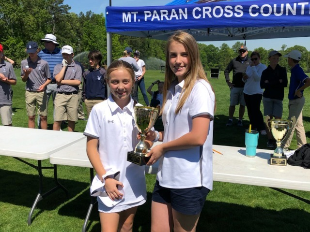 Middle School Girls Golf Captures Second Consecutive Metro-10 Championship