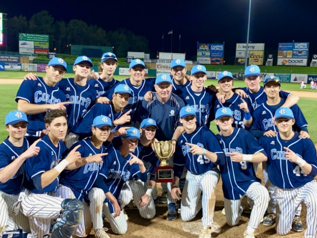 Escandon Pitches Colts to Ninth County Title