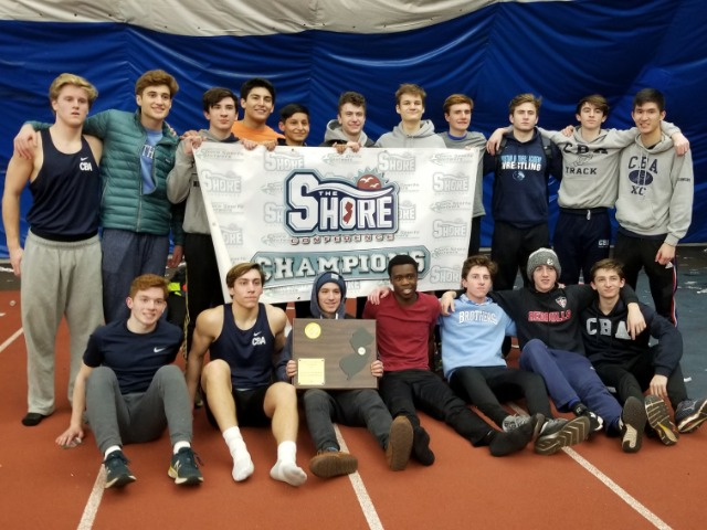 Indoor Track Takes Shore Title for 10th Straight Year