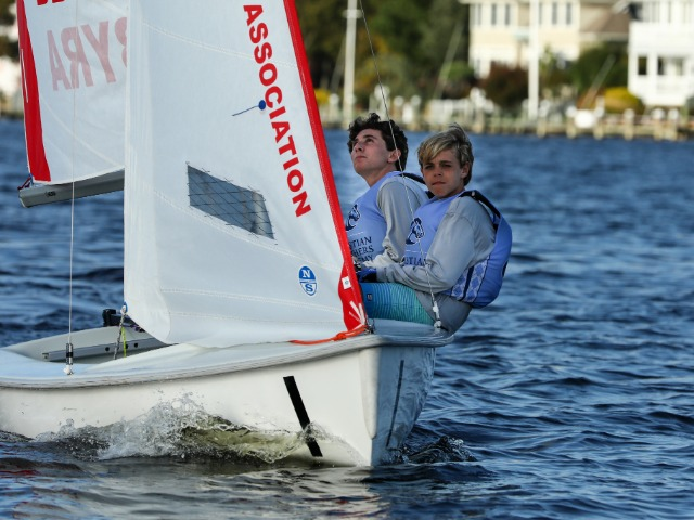 Sailing Wins BBYRA Fall Invitational