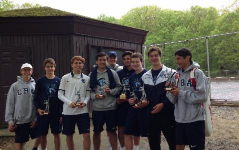Tennis Wins Monmouth County Tournament