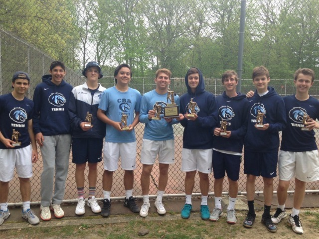 Colts Win Monmouth County Tennis Tournament