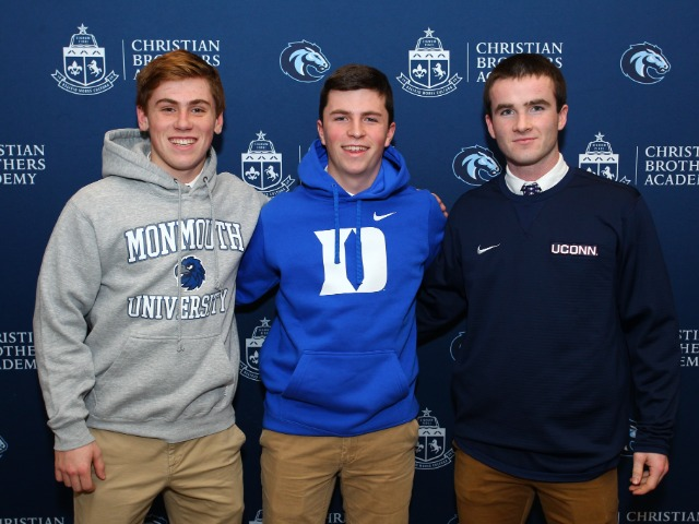 Three Soccer Athletes Commit to Division I Universities
