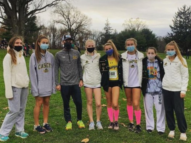 RBC Girls XC Earns State Sectional Title