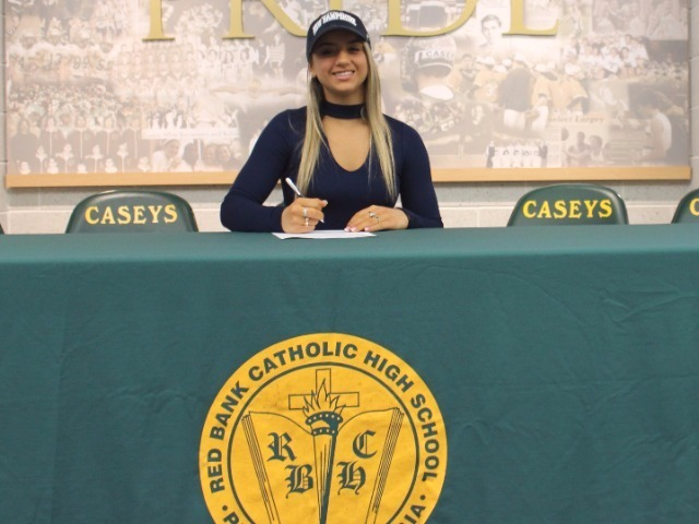 Alexandra Cucich signs with Univ of New Hampshire for gymnastics
