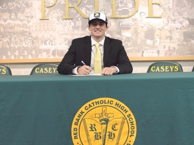 Blaise Panzini signs with the United States Military Academy for baseball