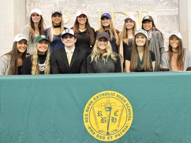Twelve Caseys sign National Letters of Intent