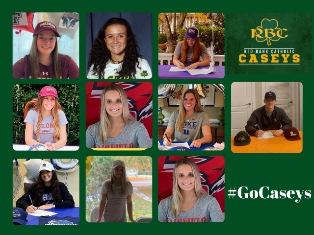 RBC Student-Athletes Sign Letters of Intent on National Signing Day