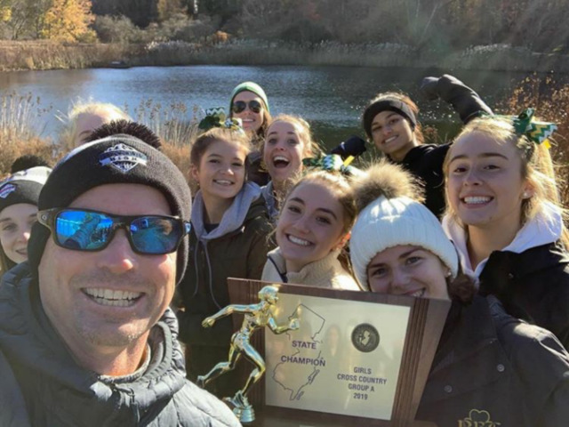 Girls Cross Country Team Wins State Championship