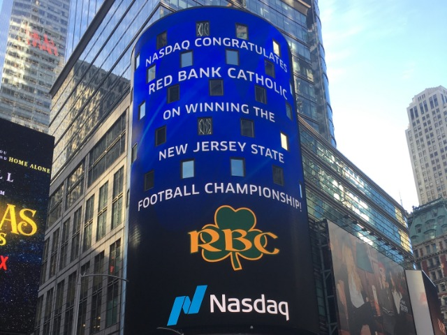 RBC Football Team Recognized In New York City