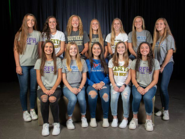 Casey Field Hockey Players Earn First Team All-Shore Honors for 2019