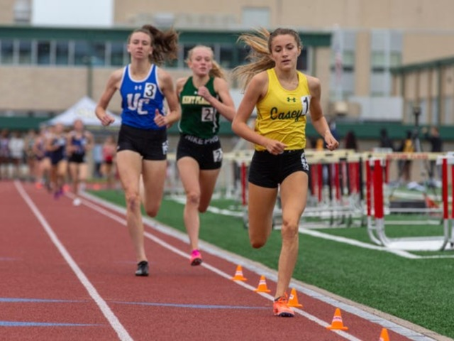 Cate DeSousa Brings Home 1600 and 800 meter state titles