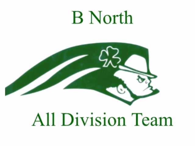Eleven Football Players Selected to the B North All Division Team