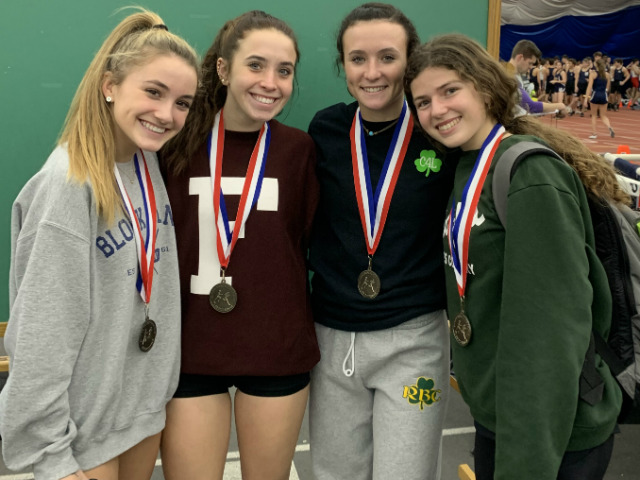 Girls Track Team Secures Monmouth County Title in Relay