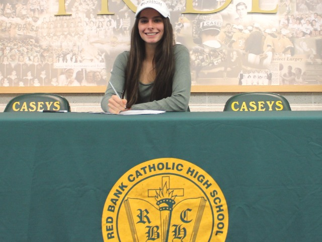 Carly Friend signing with Lehigh University for track