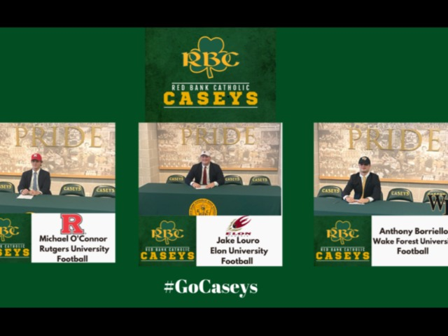 Three Student Athletes Sign National Letters of Intent